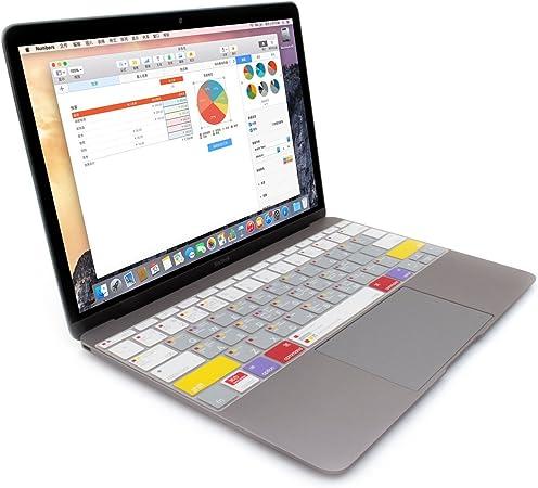 JCPAL VerSkin Mac OS accesos directos Protector Ultra fino de ...