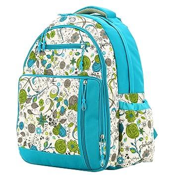 Amazon.com : Aivtalk Women Multi-function Waterproof Large Mummy Travel Backpack Diaper Nappy Bag Shoulder Bag Blue Printing : Baby