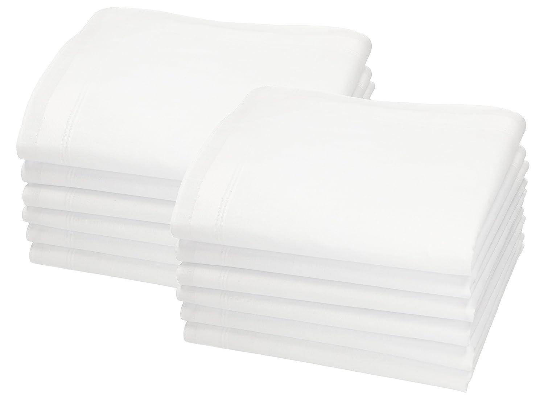 Betz Herren Stoff Taschentücher Set Leo 5 Dessin 4 100% Baumwolle Größe 40x40 cm