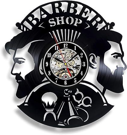 Details about  /LED Vinyl Clock Barber Shop LED Wall Decor Art Clock Original Gift 1934
