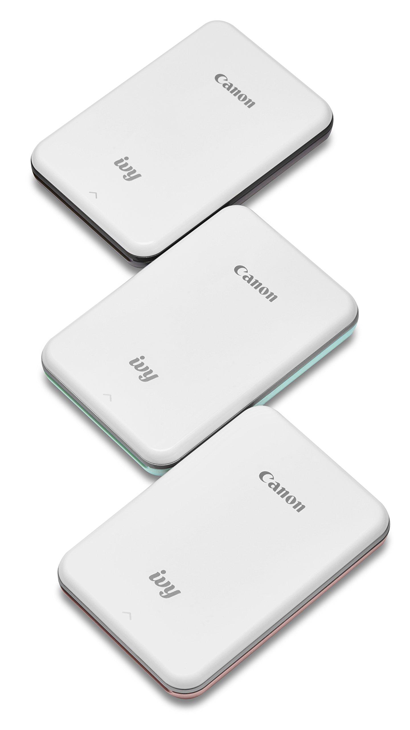 Canon IVY Mobile Mini Photo Printer through Bluetooth(R), Slate Gray by Canon (Image #8)