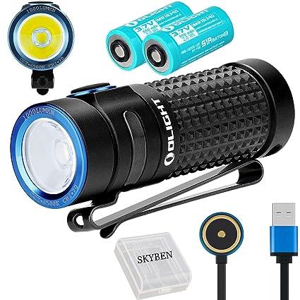 Amazon.com: Olight S1R II - Linterna LED CW de alto ...