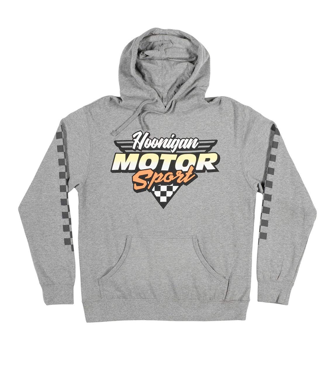 80/% Cotton // 20/% Polyester Hoonigan HNGN Motorsport Pullover Fleece Slay Tires and ain/'t Care. Made for Those who Bust Knuckles