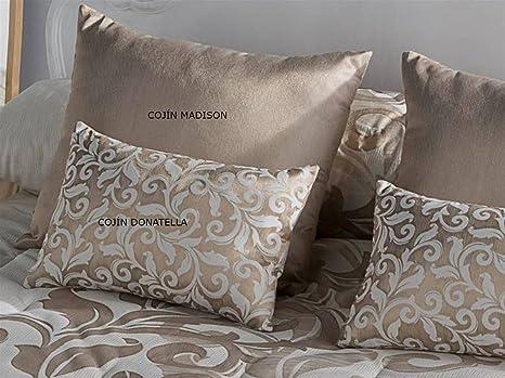LaNovenaNube - Cojín DONATELLA 30x50 cm - Color Oro con ...