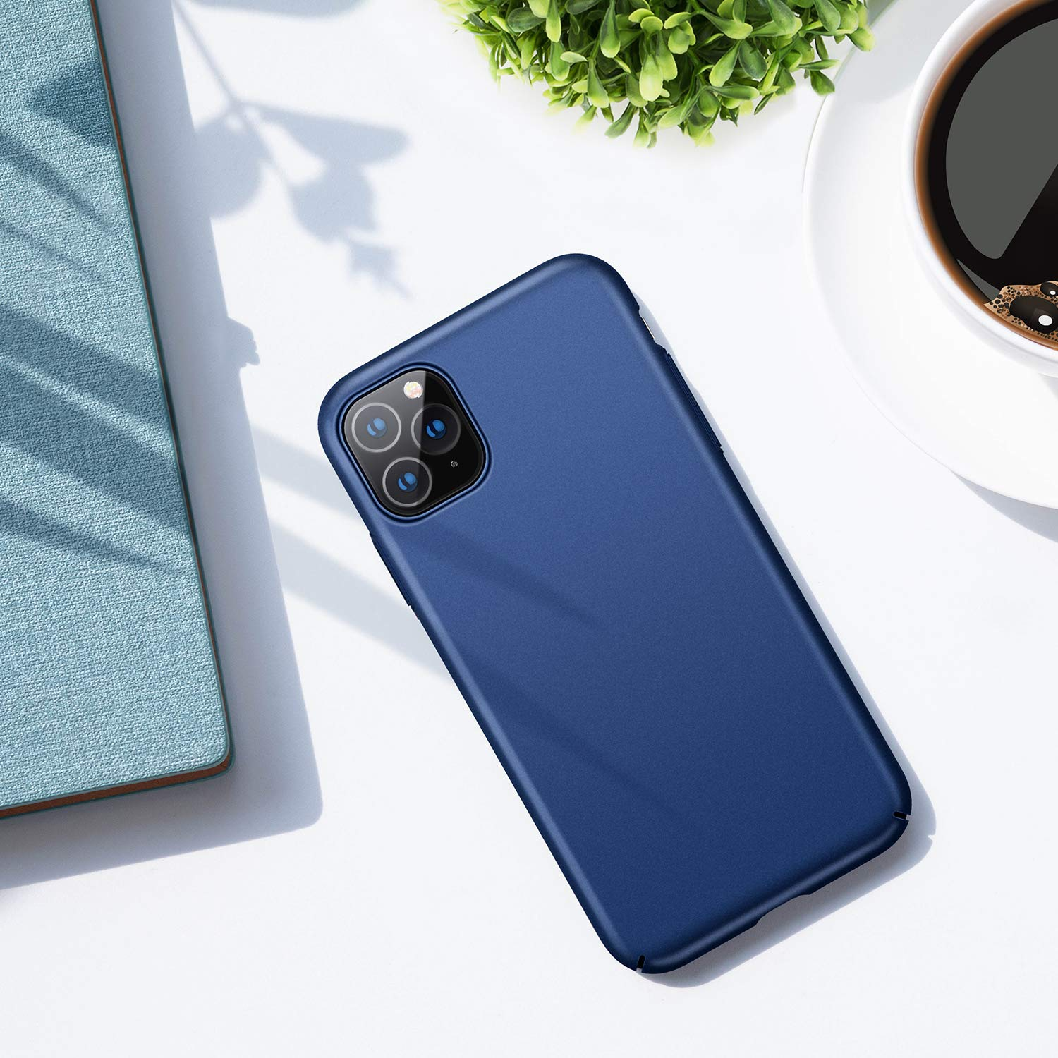 Slim Fit Full Protective Case with Matte Finish Coating Grip Ultra Thin Cover Phone Case for iPhone 11 Pro 5.8 inch TORRAS iPhone 11 Pro Case 2019 - Black