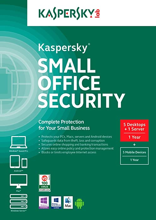 Top 10 Xkaspersky Lab Small Office Security