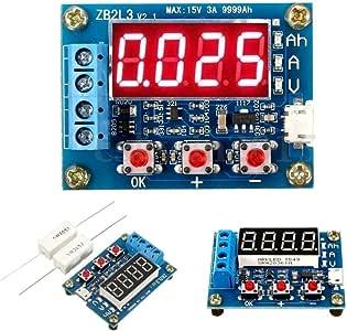 HiLetgo 18650 Li-ion Lithium Lead-acid Battery Capacity Meter Discharge Tester Analyzer