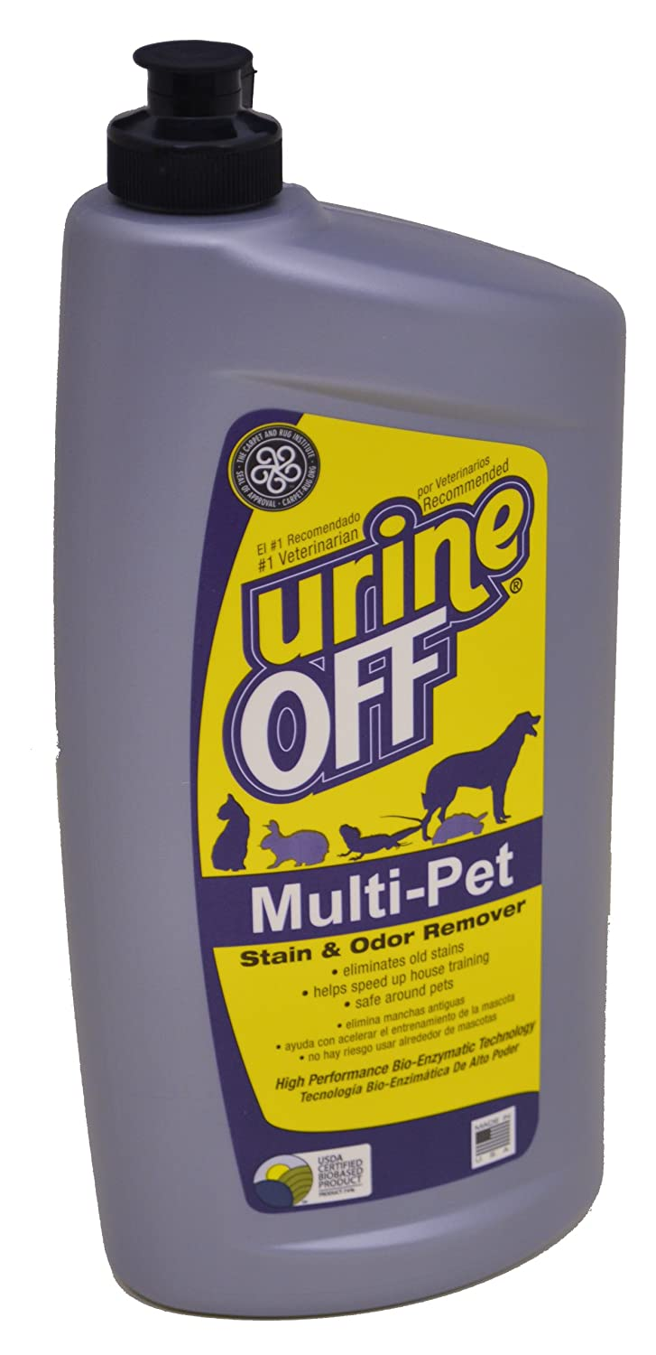 Urine Off Multi-Pet 32oz Bottle with Carpet Injector Cap MR1050