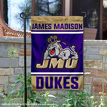 College Flags and Banners Co James Madison Dukes New Logo Flag