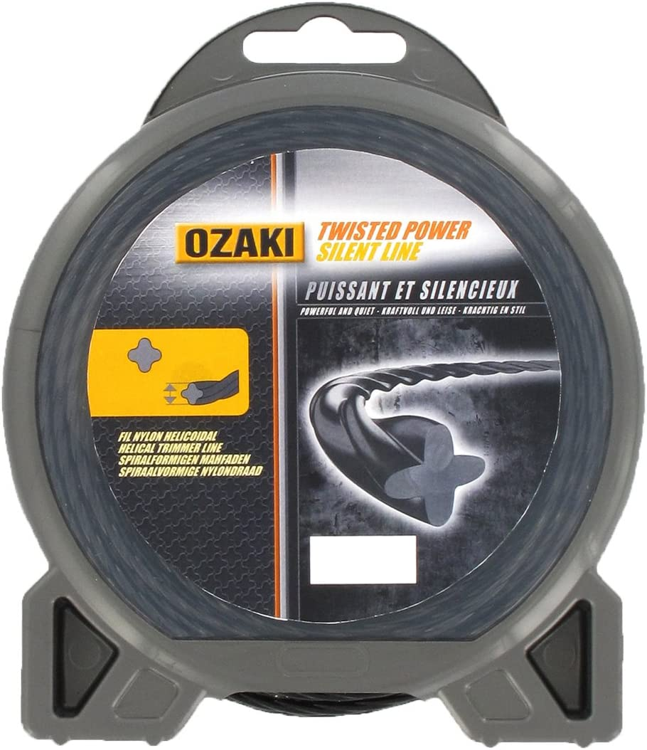 espiral Ozaki 3 mm de di/ámetro 28 m Hilo de nylon//cuerda de nylon