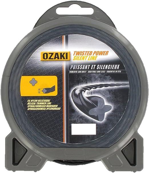 Ozaki - Hilo de nylon/cuerda de nylon, espiral, 28 m, 3 mm de ...