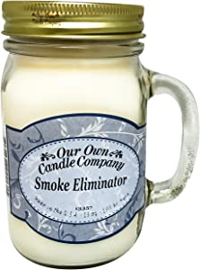 Our Own Candle Company Smoke Eliminator Scented 13 Ounce Mason Jar Candle