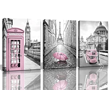 Amazon.com: Paris Eiffel Tower Decor for Bedroom for Girls ...
