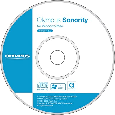 Olympus Sonority Audio Notebook Plug-in CD-ROM, V4661100W000 (Notebook Plug-in CD-ROM)