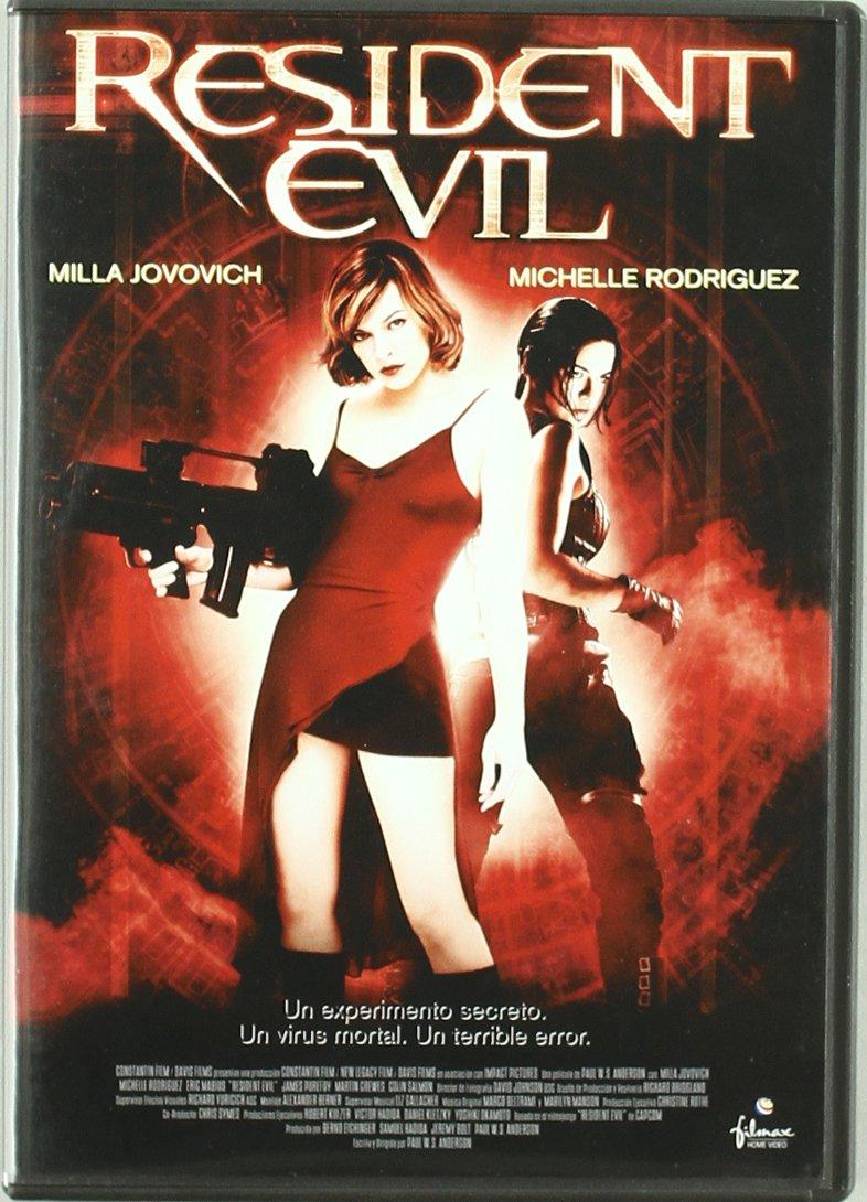 Resident evil [DVD]: Amazon.es: Milla Jovovich, Michelle Rodriguez ...