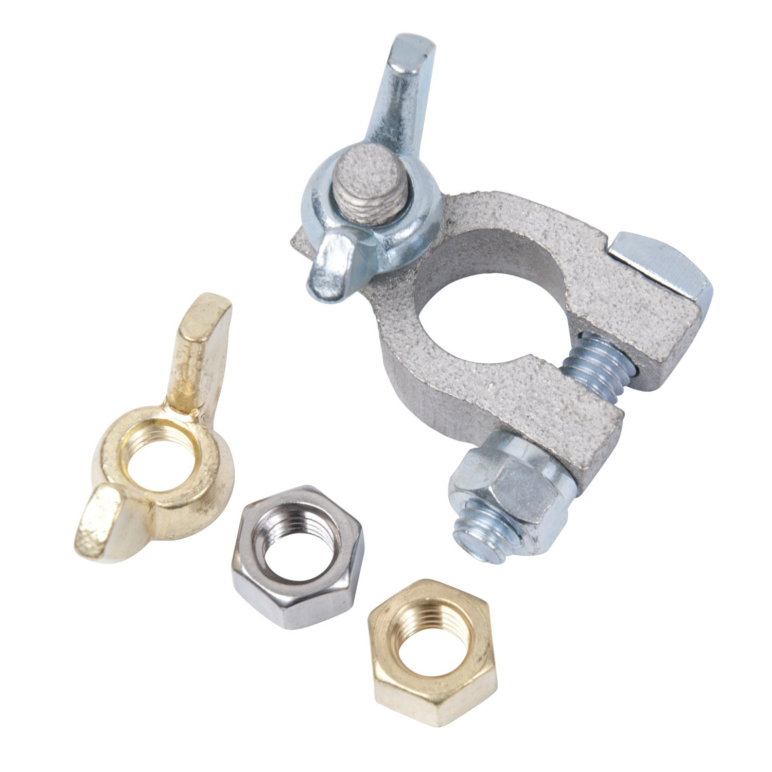260322 Ancor Marine Grade Electrical Battery Terminal Post Rings 1 each 3//8 and 5//16 Wing Nut 1 each