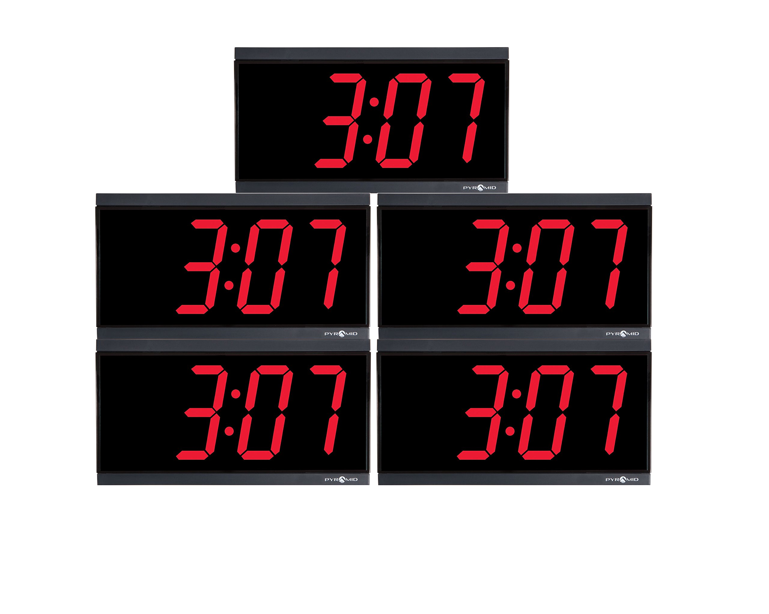 Pyramid TimeTrax Sync Ethernet Clocks in a Box Digital Bundle (SEBD5R4SR)