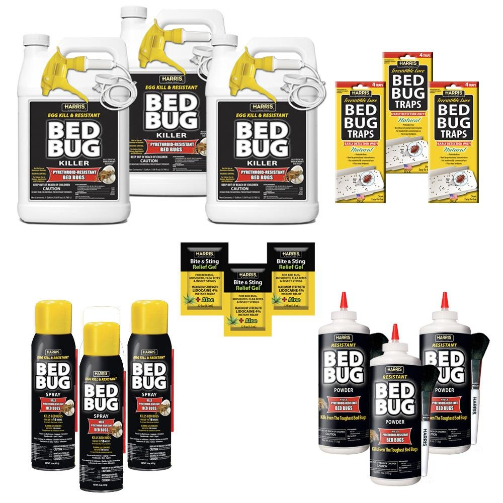 Harris Egg Kill and Resistant Bed Bug Pro Pack Kit by Harris