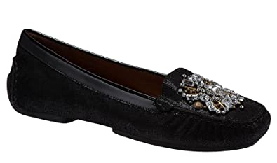 27201ca47a2 Image Unavailable. Image not available for. Color  Donald J Pliner Women s  Mystic Loafer Size 8 Black