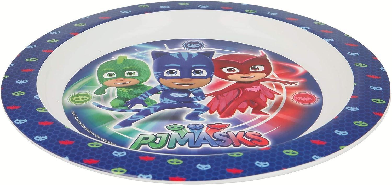 PJ Masks 841249701947 - Plato plano para microondas
