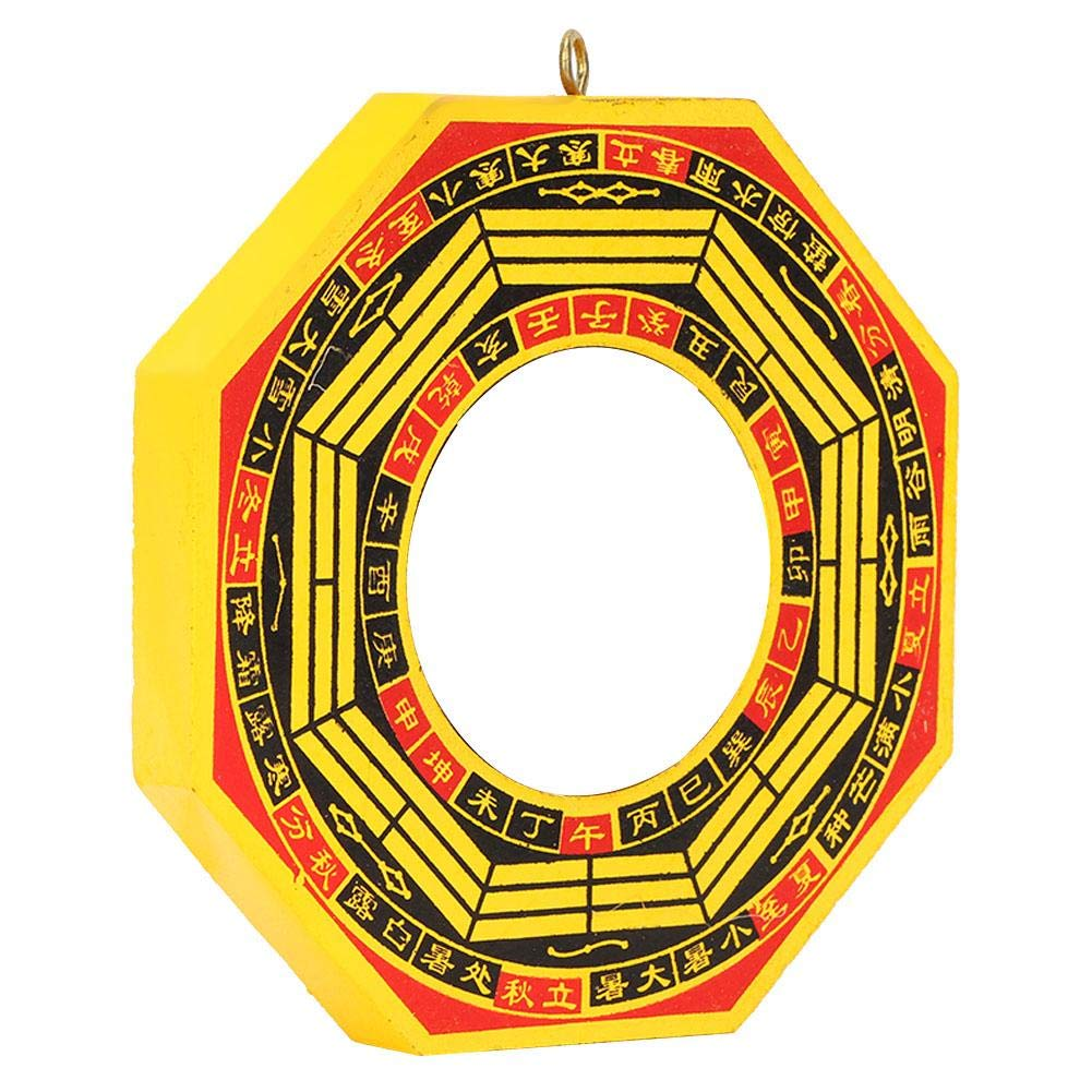 Furnoor Chinese Feng Shui Specchio Tradizionale Convesso//Specchio concavo Bagua per la casa dAffari Fortunato #2