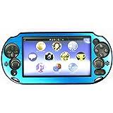 HIROMARUjp Play Station Vita PCH-2000用 プロテクト 保護 カバー ライト ブルー