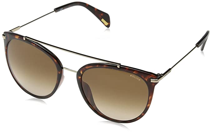 Police Goldeneye 2, Gafas de Sol para Mujer, Multicolor (Shiny Dark Havana), 47: Amazon.es: Ropa y accesorios