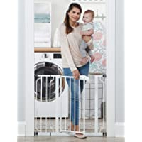 Regalo Easy Step 38.5-Inch Extra Wide Walk Thru Baby Gate, Includes 6-Inch Extension Kit, 4 Pack…