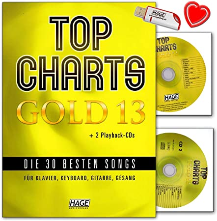Top Charts Gold 13 (con 2 CD): 30 mejores canciones para ...