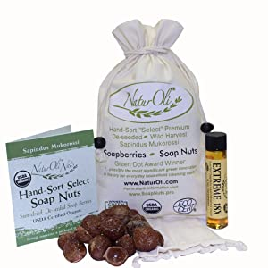 NaturOli Soap Nuts/Soap Berries Organic Laundry