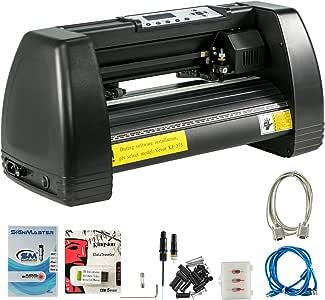 VEVOR Vinyl Cutter 14 Inch Plotter Machine 350mm Paper Feed Vinyl Cutter Plotter Signmaster Software Sign Making Machine (14Inch Style 2)