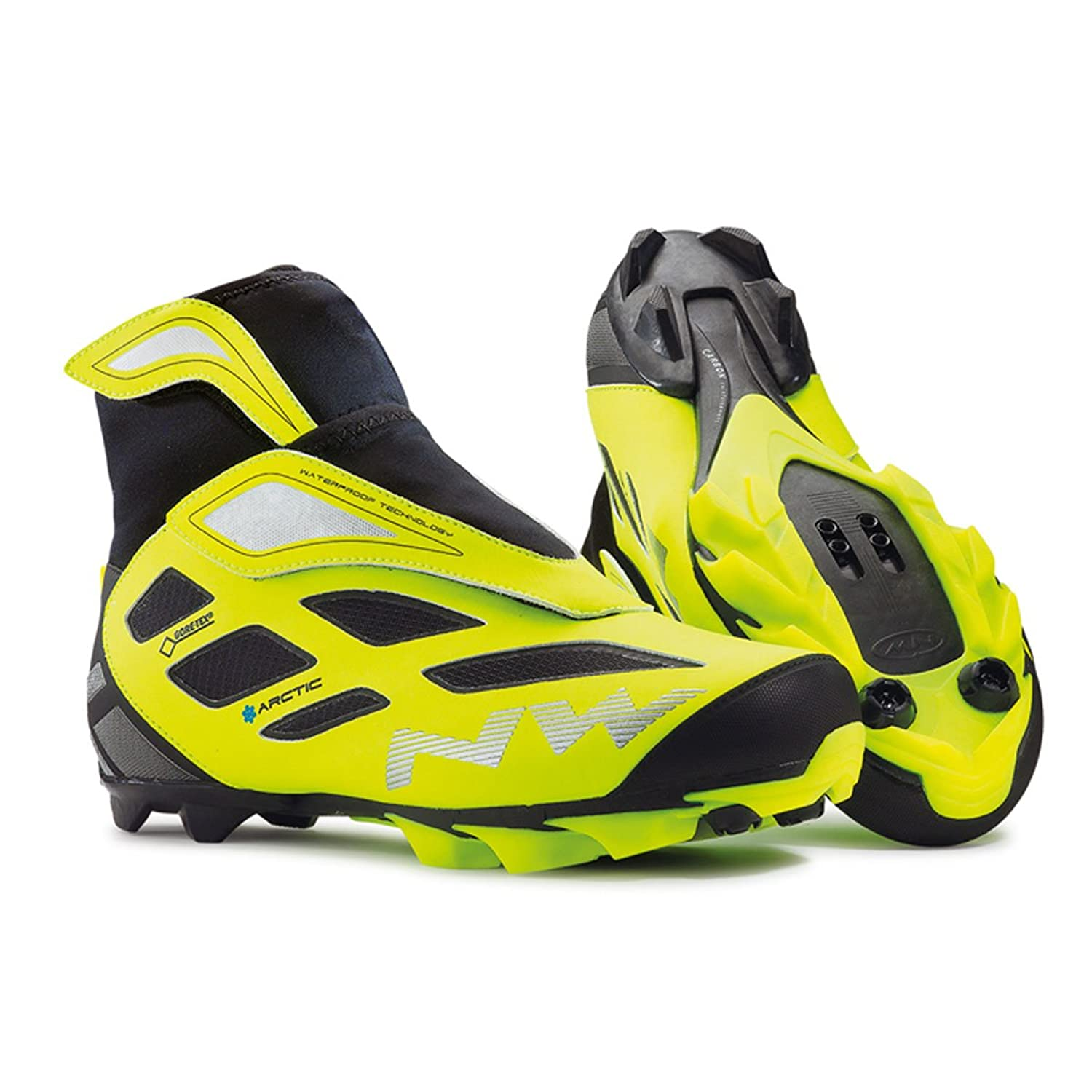 Amazon.com | Northwave Celsius Arctic 2 GTX Black-Lime Shoes 2016 | Cycling