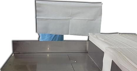 Toallas desechables Spun-Lace 40*80 cm, 100 Unds, Peluquería / Estética, color Blanco: Amazon.es: Belleza