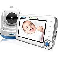 Luvion 71 Supreme Connect - Dispositivo digital de vigilancia audio y vídeo para bebés (pantalla a color de 4,3 pulgadas, modo dual con Wi-Fi opcional, cámara digital con control remoto)