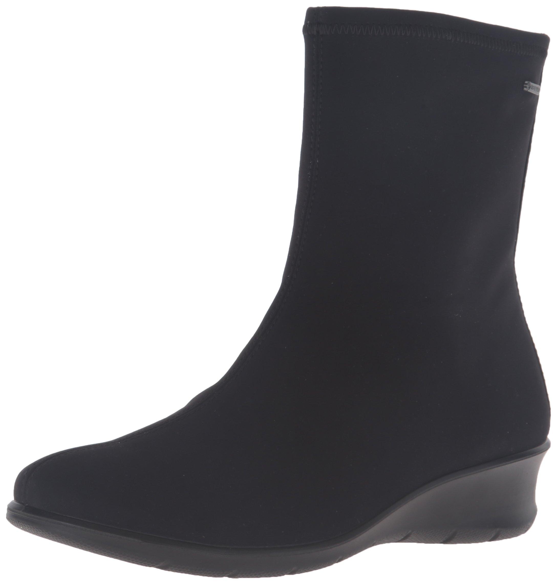 ECCO Women's Women's Felicia Gore-Tex Boot, Black Textile, 39 EU/8-8.5 M US