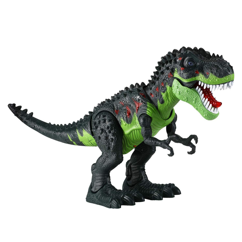 Tuko Dinosaur Toys Jurassic World Electronic Led Light Up Roaring Realistic Large T-Rex Toys for 3-12 Year Old Toddler Boy Girl Gift by Tuko (Image #2)