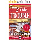 TIME, TIDE, and TROUBLE: A Ravenwood Cove Cozy Mystery (book 5) (English Edition)