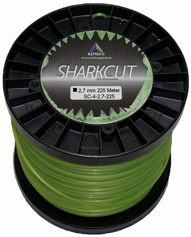 Sharkcut - Hilo profesional de aluminio para cortabordes, hilo de ...