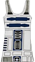 Mighty Fine Womens Womens R2D2 Tank Top
