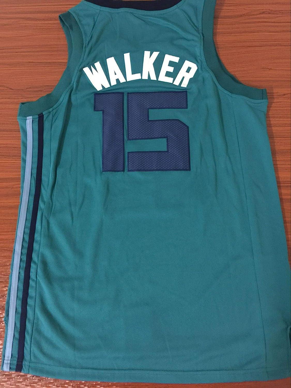 Uomo Donna NBA Charlotte Hornets 15# Walker Maglia da Basket