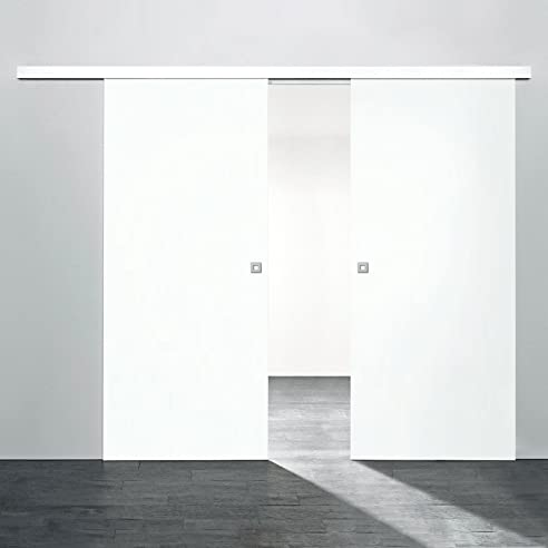 schiebet r wei holz. Black Bedroom Furniture Sets. Home Design Ideas