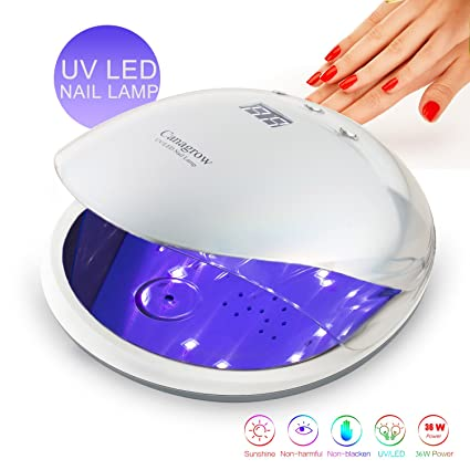 LED secador de uñas con 48 W UV uñas lámpara para Shellac y gelnagel barniz Luz