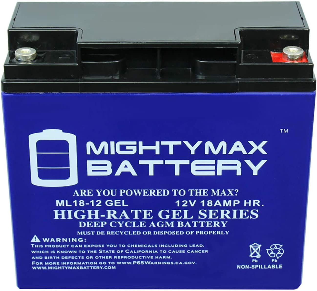 Mighty Max Battery 12V 18AH Gel Replacement Battery for A.P.C SU2200XLTNET 2 Pack Brand Product