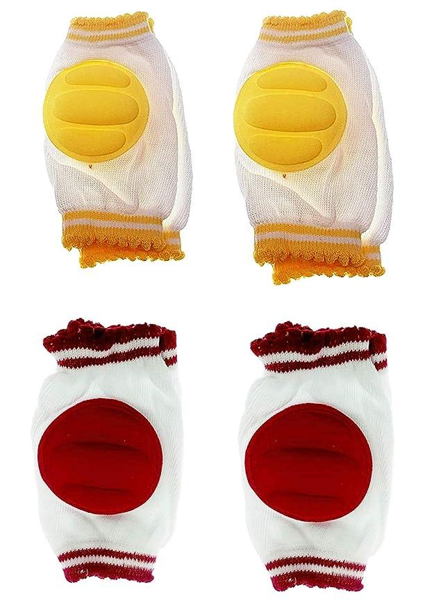 Confezione da 3 Paia JT-Amigo Ginocchiere per Gattonare per Bimbi