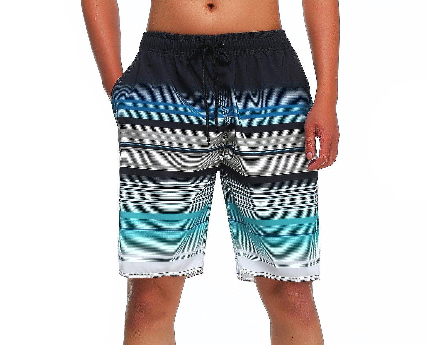 3b7dcb3b26 Amazon.com: Milankerr Men's Swim Trunks: Clothing