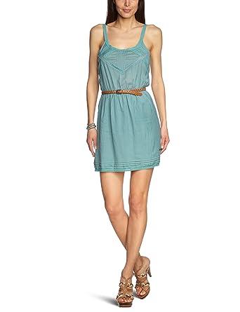 Pepe Jeans Damen Kleid Mini Pl951112 Linda Gr 32 Xs Grun