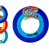 "Soft Giant Frisbee Throwing Disc 16"" (1 Unit Assorted) Soaring Flyer Splash Fun Aqua Flyer Lightweight. Flying Discs for…"