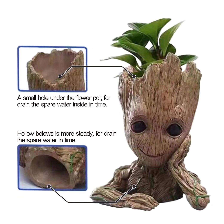 Flowerpot Pen Pot Toy Baby Groot
