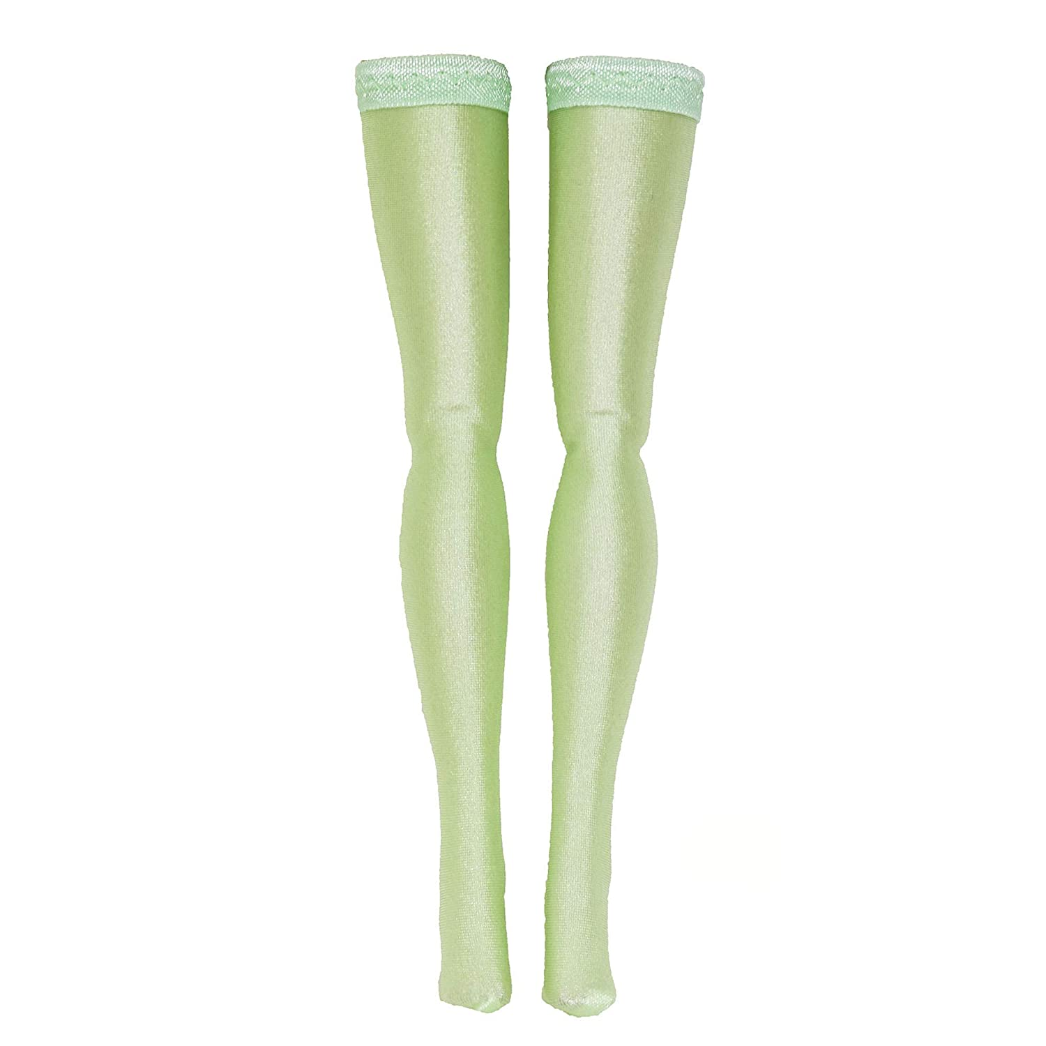 Silkstone Light Green Doll Stockings for Barbie Skipper Tall Made to Move Petite Curvy Francie