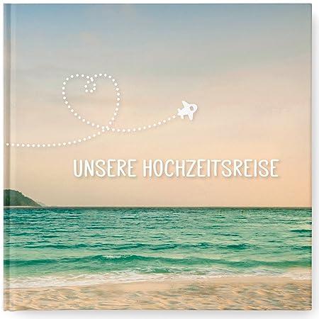 """""""Unsere Hochzeitsreise"""" – Reisetagebuch für die Flitterwochen als Hochzeitsgeschenk"""
